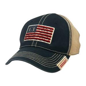 Hornady American Flag Hat OSFA Adjustable Mesh Back Navy