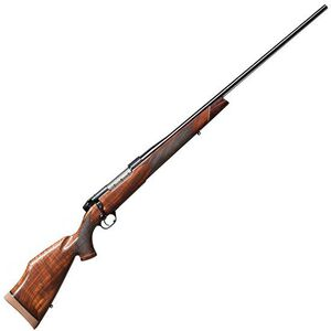 """Weatherby Mark V Deluxe Bolt Action Rifle 7mm Wby Mag 26"""" Barrel 3 Rounds Walnut Stock Blued Finish"""