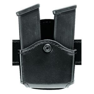 Safariland 572 Open Top Double Magazine Pouch Fits GLOCK 17/19/26 Hardshell STX Basketweave Black