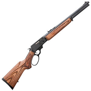 "Marlin Model 336BL Lever Action Centerfire Rifle .30-30 Winchester 18"" Barrel 6 Rounds Large Loop Lever Laminated Wood Pistol Grip Stock Blued Barrel and Receiver"