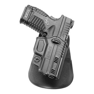 Fobus Evolution Paddle Holster Right Hand Fits Springfield XDS Polymer Black
