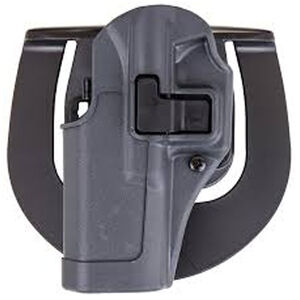 BLACKHAWK! SERPA Sportster Paddle Holster For GLOCK 19/23/32 Left Hand Polymer Gray 413502BK-L