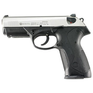 "Beretta Px4 Compact Inox 9mm Luger Semi Auto Pistol 3.27"" Barrel 15 Rounds Black Polymer Frame Stainless Slide JXC9F51"