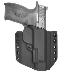 """Comp-Tac Warrior Holster Walther PPS M2 OWB Belt Slide Right Hand 1.5"""" Belt Loops Kydex Black"""