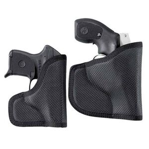 DeSantis N38 S&W J-Frames, Ruger LCR, SP101 The Nemesis Pocket Holster Ambidextrous Nylon Black