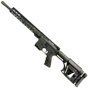 "Windham Weaponry .450 Thumper AR-15 Semi Auto Rifle .450 Bushmaster 16"" Barrel 5 Round Magazine Free Float Hand Guard Luth-AR Buttstock Matte Black"