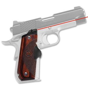 Crimson Trace Lasergrip Master Series 1911 Government, Commander Round Heel Rosewood LG-907
