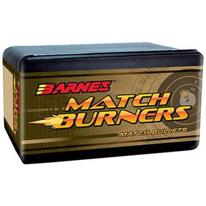 Barnes 6.5mm/.264 Caliber Bullets 100 Projectiles Match Burner 140 Grains 30230