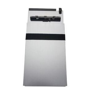"""Posse Box Cite Book Caddy 6"""" x 12"""" Anodized Aluminum Bare Silver Finish RT6-CA"""