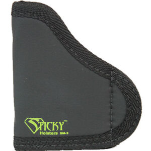 Sticky Holsters SM-3 Holster for Subcompact Handguns w/Laser Ambidextrous Black