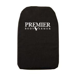 """Premier Body Armor Panel Vertx Transit 8.5""""x14"""" Black"""