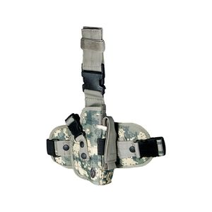 Leapers UTG Special Operations Universal Leg Holster Right Hand Magazine Pouch Elastic Non-Slip Adjustable Leg Strap Army Digital PVCH178R