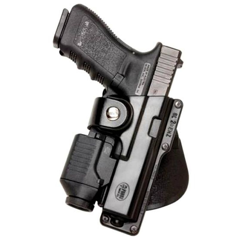 Fobus Tactical Paddle Holster For GLOCK 17/Ruger American Right Hand Polymer Black GLT17