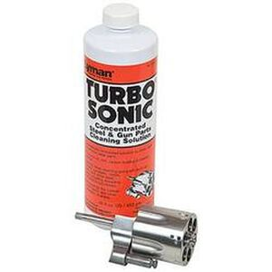 Lyman Turbo Sonic Gun Parts Cleaning Solution (Concentrate) 16 fl oz