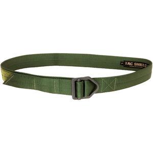 "TAC SHIELD Tactical Riggers Belt 1.75"" Small 30-34"" OD Green"