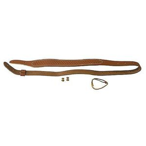 "Butler Creek Cobra Rifle Sling 36"" Basket Weave Leather Brown 2641-2"