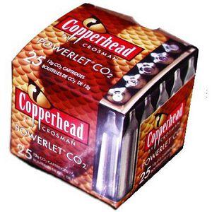 Crosman Copperhead 12-Gram CO2 Powerlets 25 Per Box