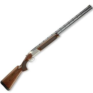 """Browning Citori 725 Sporting Over/Under Shotgun 20 Gauge 32"""" Barrels 3"""" Chamber 2 Rounds Silver Nitride Receiver HiViz Pro-Comp Fiber Optic Front Sight Blue Gloss Oiled Finished Walnut Stock 0135316009"""