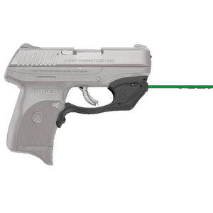 Crimson Trace LG-416G Green LaserGuard For Ruger EC9S/LC9/LC9S/LC380 Polymer Housing Matte Black