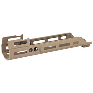 "Kinetic Development Group MREX MKII FN SCAR 2.2"" M-LOK Free Float Extended Hand Guard Rail System Magpul Flat Dark Earth"
