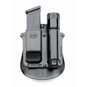 Fobus Flashlight/Magazine Paddle Pouch For GLOCK 9mm/.357 Polymer Black SF6900