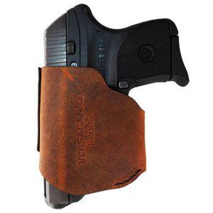 VersaCarry Pro IWB/OWB Holster Small .380 Autos Right Hand Leather Brown PRO380XS