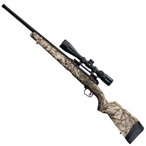 "Savage 110 Apex Predator XP Bolt Action Rifle .308 Winchester 20"" Threaded Barrel 4 Rounds DBM Vortex Crossfire II 4-12x44 Riflescope AccuTrigger Synthetic Stock Mossy Oak Mountain Country Range Camouflage"
