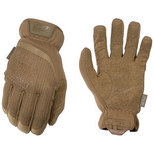 Mechanix Wear FastFit Coyote Gloves Size Small Coyote