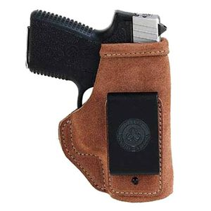 Galco Stow-N-Go S&W J Frame, Charter Arms Undercover, Colt Agent, Cobra, Detective Special IWB Holster Right Hand Leather Natural Brown Finish STO158