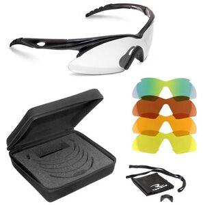 Radians Shift Shooting Glasses With Interchangeable Lenses Black SH500CS