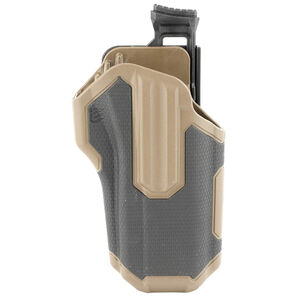 BLACKHAWK! Omnivore Multi fit Holster for Most Handguns with Rails Level 2 Retention Tan/Black