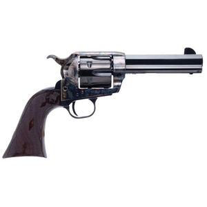 """Cimarron El Malo 2 .357 Mag/.38 Special Single Action Revolver 4.75"""" Barrel 6 Rounds Pre-War Frame Design Fixed Sights Case Color Hardened Blued Finish"""