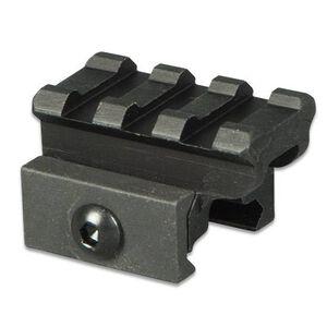 """Lion Gears AR-15 Tactical .75"""" Riser Mount 3 Slots 1.45"""" Long Aluminum Black BM0307"""