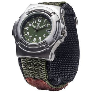 Smith & Wesson Basic Watch with Nylon Strap Water Resistant Olive Drab SWW-11-OD