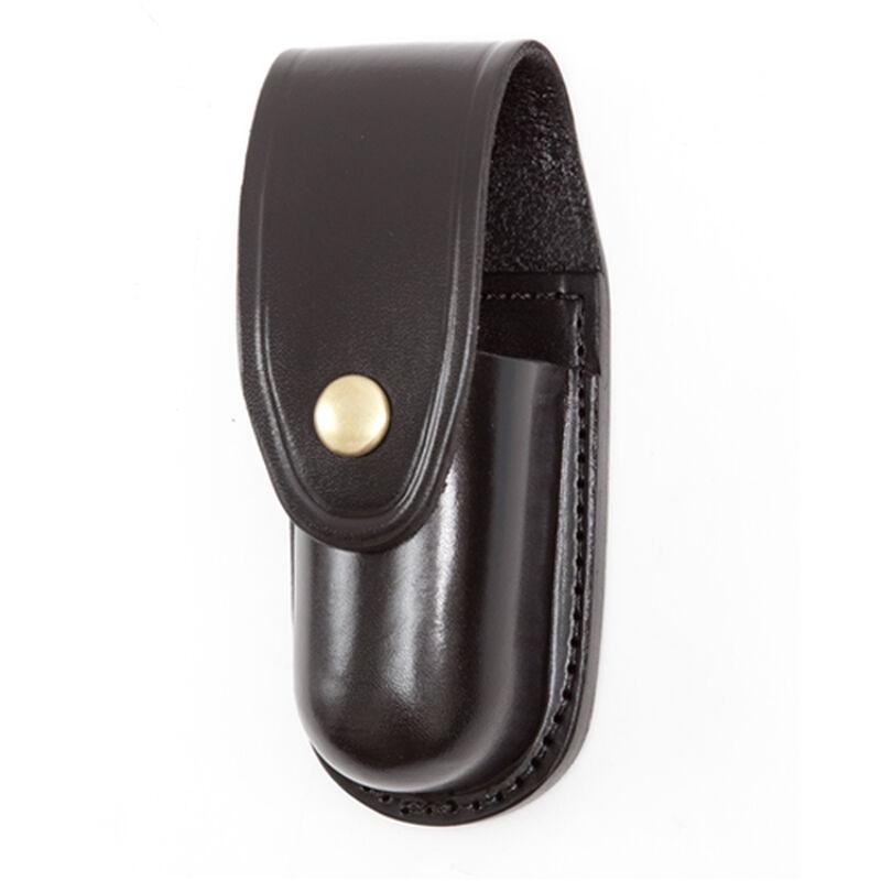 Gould & Goodrich K-Force Aerosol Case Fits MK III/MK IV Brass Snap Leather Plain Black