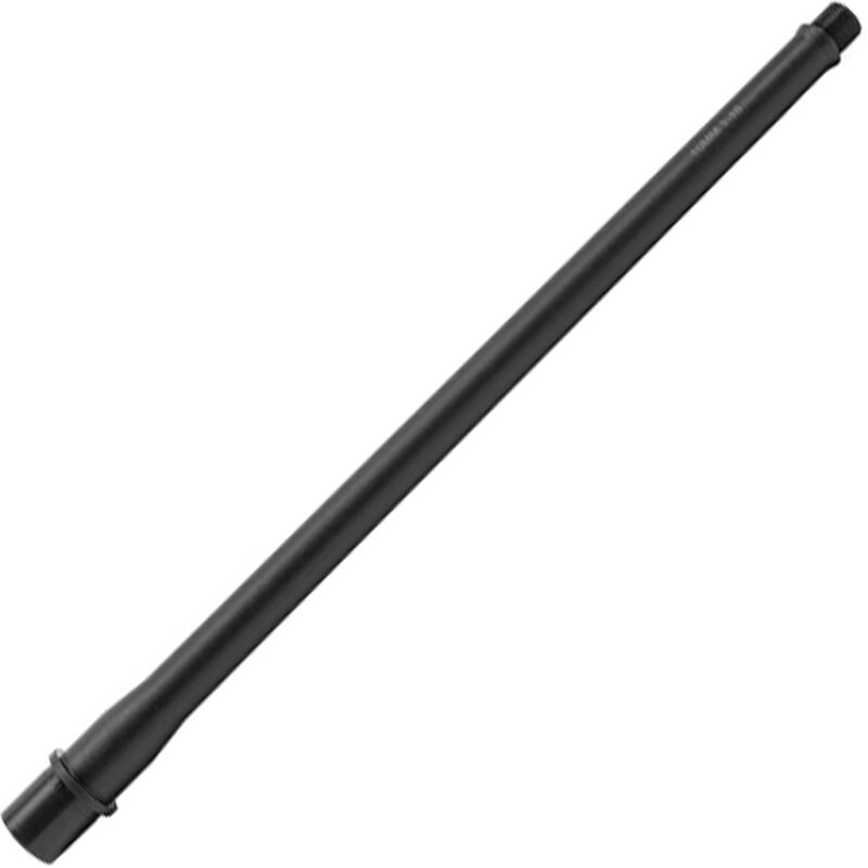 "New Frontier AR Style 16"" Match Grade Barrel 10mm Auto 1:16 Twist Threaded 5/8x24 TPI Integrated Feed Ramp Black Finish"