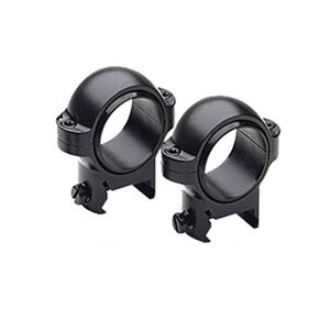 "Burris Signature 1"" Zee Rings Medium Matte Black 420521"