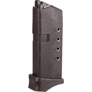 ProMag Magazine For Glock 43 9mm Luger 6 Rounds Polymer Black GLK 12
