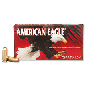 Federal American Eagle 10mm Auto Ammunition 50 Rounds FMJ 180 Grains AE10A