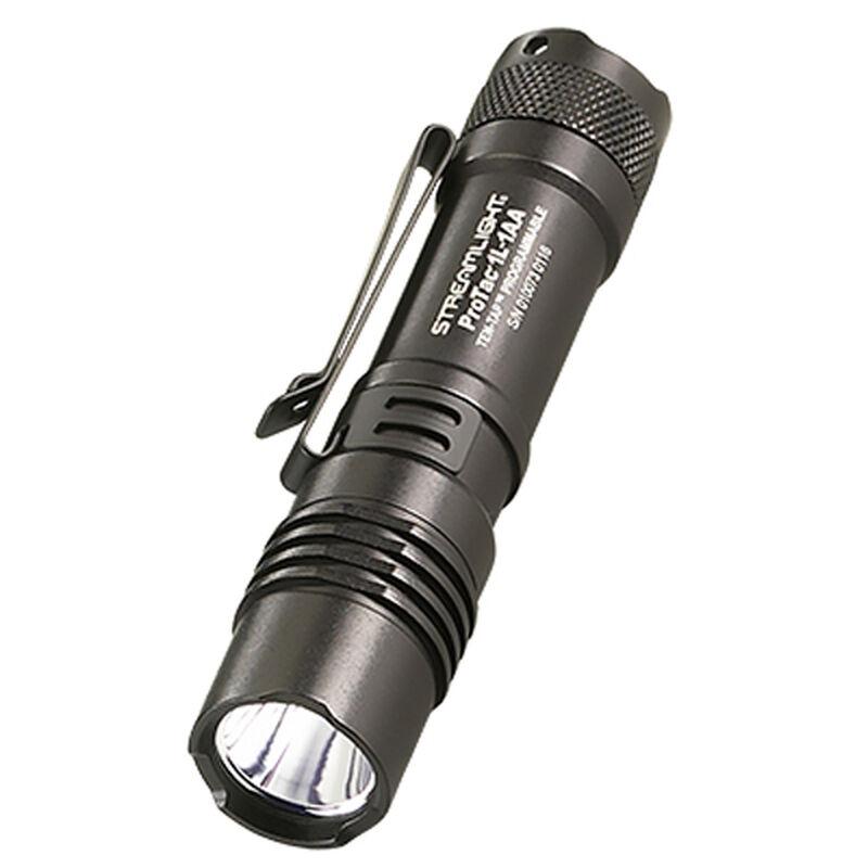 Streamlight ProTac 1L-1AA Flashlight LED 350 Lumen Tail Switch CR123A/AA Anodized Aluminum Black