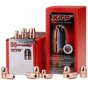 """Hornady .38 Caliber .357"""" Diameter 125 Grain XTP Flat Point Bullet 100 Count"""