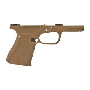FMK Firearms AG1 Frame Stripped Compact Size Frame Built For GLOCK 19 Gen3 Slides Polymer Burnt Bronze
