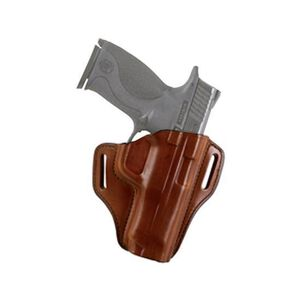 Bianchi Remedy Open Top Belt Holster for Colt 1911's and Clones Right Hand Leather Brown