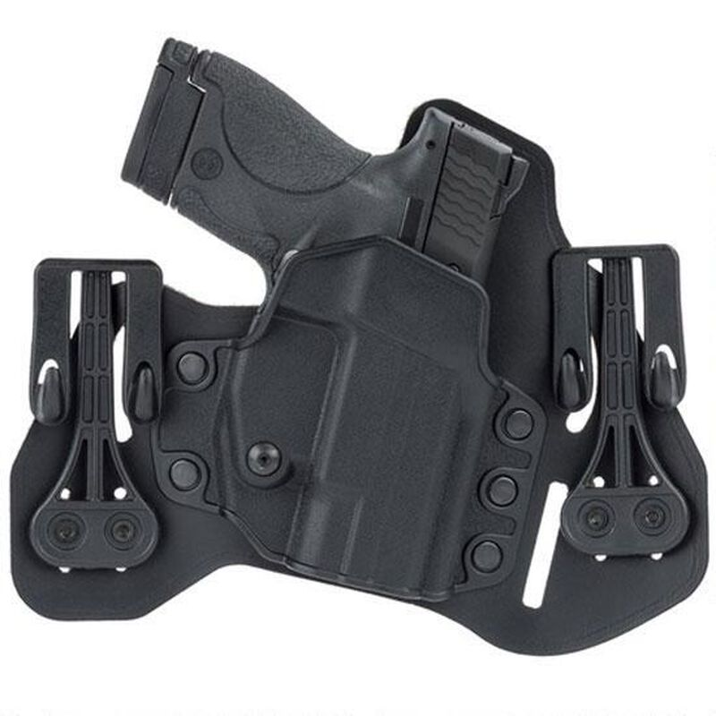 BLACKHAWK! Tuckable IWB Holster Ruger LC9/380 Right Hand Leather/Polymer Black 422007BK-R