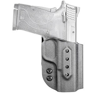 Fobus Extraction Holster fits S&W M&P 9/380 Shield EZ Right Hand IWB/OWB Polymer Matte Black Finish
