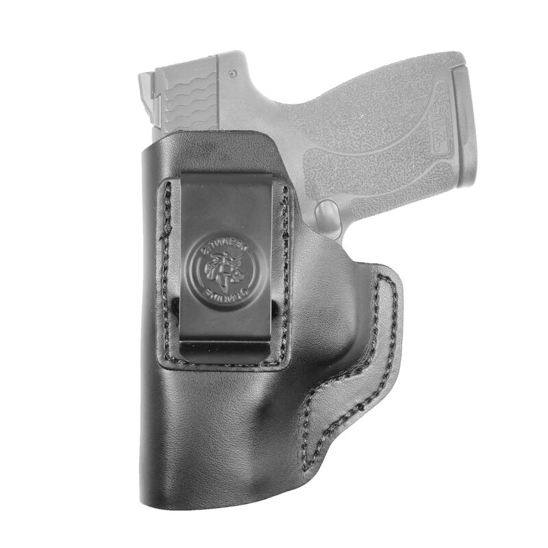 DeSantis The Insider Springfield XDS IWB Holster Left Hand Leather Black