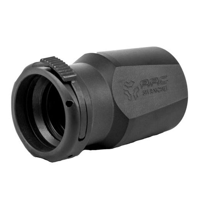Advanced Armament Corporation BLASTOUT 51T Ratchet-Taper Mount Muzzle Accessory Steel Nitride Finish Matte Black