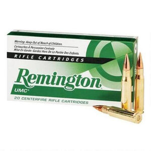 Remington .300 AAC Blackout Ammunition 20 Rounds, OTFB, 120 Grains