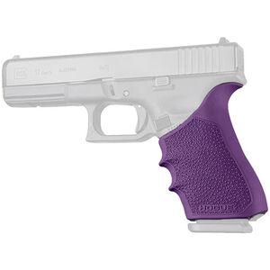 Hogue HandAll Beavertail Grip Sleeve Fits GLOCK 17/22/19X Gen 1-2-5 Purple