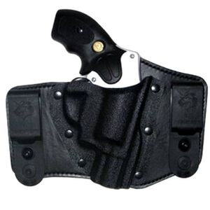 DeSantis Intruder IWB Holster S&W J Frame Revolvers Right Hand Kydex/Leather Black 105KA02Z0